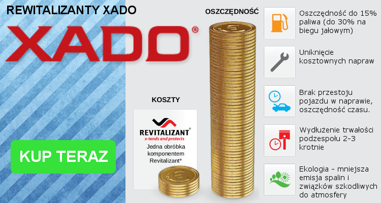 Sprawdź naszą ofertę produktów XADO i zyskaj pewną ochronę.