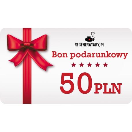 Karta podarunkowa 50zł (wirtualny bon)