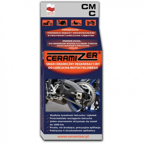 Smar do łańcucha motocyklowego regenerujący Ceramizer