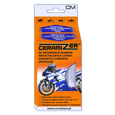 Ceramizer do silników motocyklowych