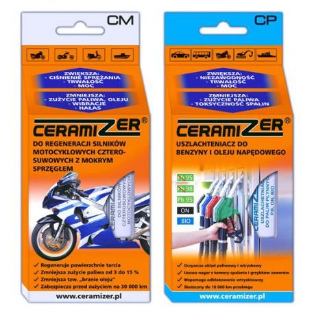 Zestaw ceramizer do silnika motocyklowego i paliwa
